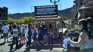 Top-Line Industrial Supply booth at the 2014 Temecula Rod Run