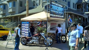 Top-Line Industrial Supply booth at the Temecula Rod Run 2