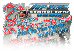 Top-Line Industrial Car Show Flyer