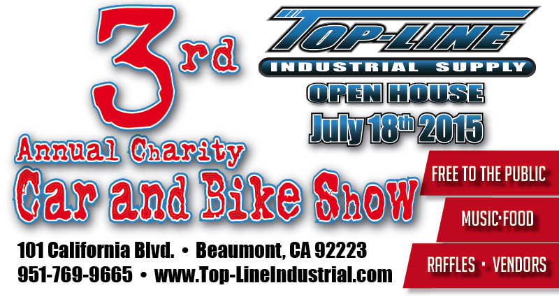 Top-Line Industrial Supply 3rd Annual Car and Bike Show