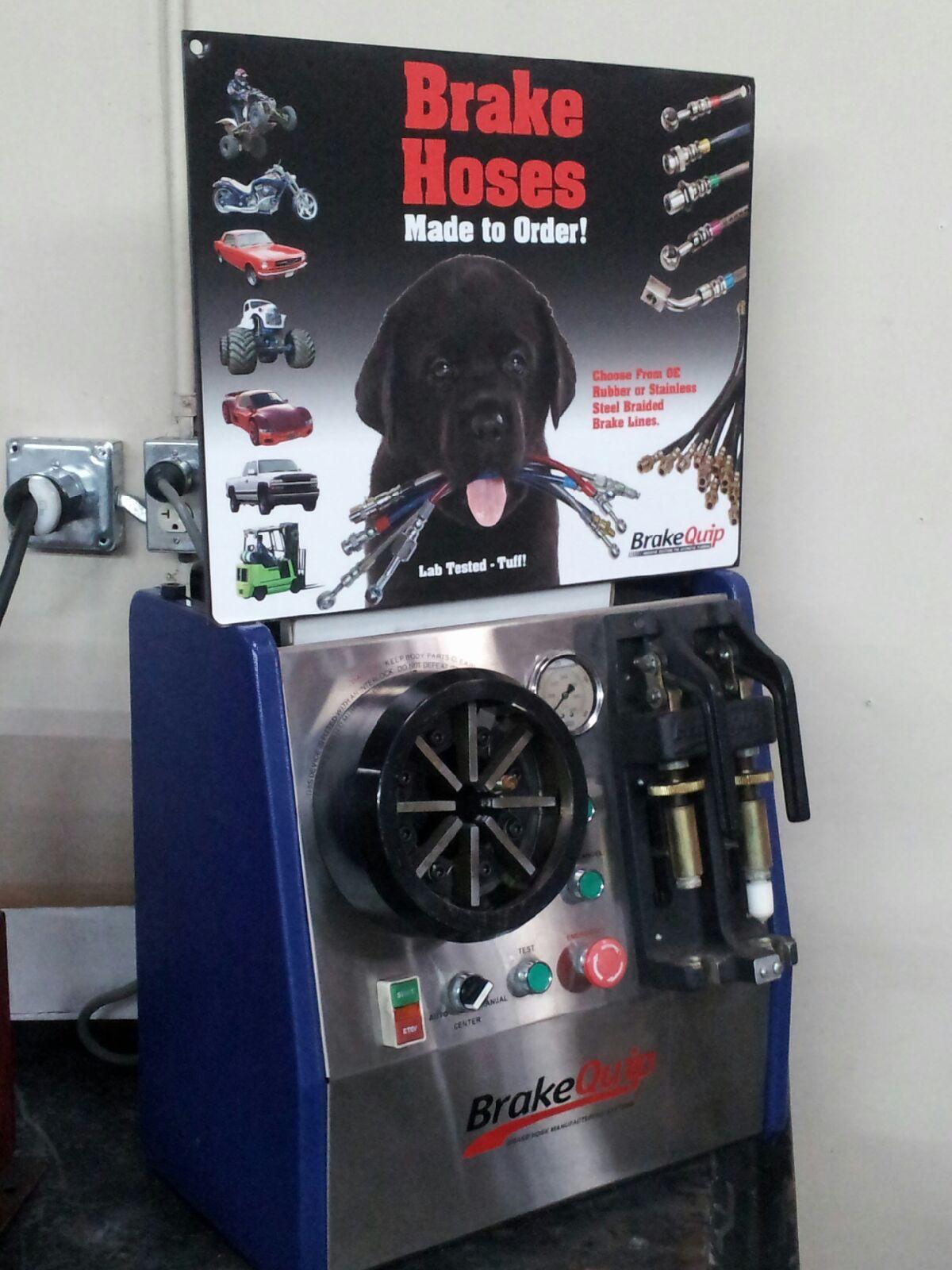 Brake Quip hose replacement
